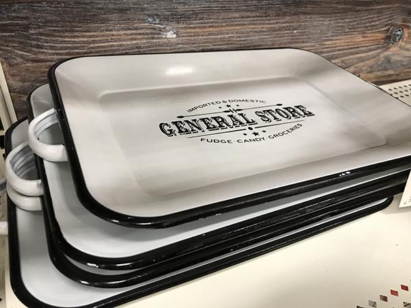 General Store Ceramic Platter